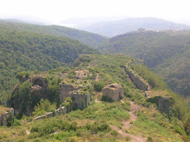 Il castello del saladino siria for Citta della siria che da nome a un pino