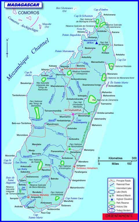Aeroporto Nosy Be : St marie madagascar orientamenti